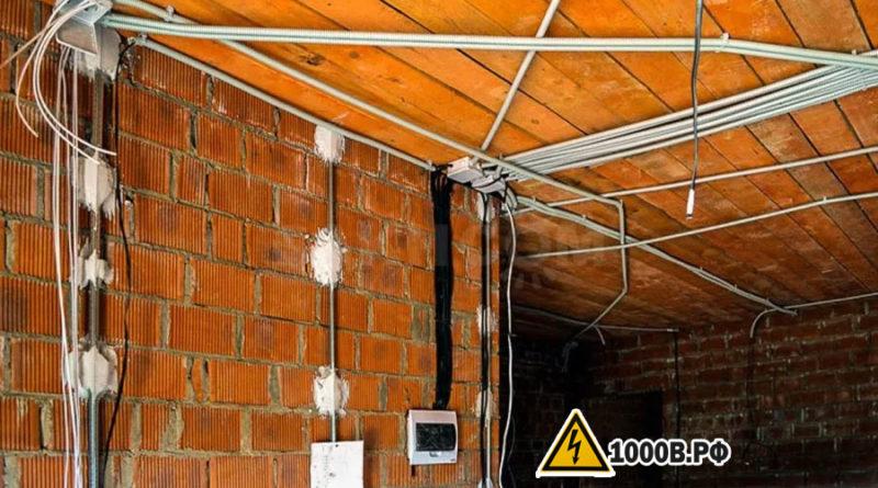 Монтаж проводки, способы прокладки проводов. 10