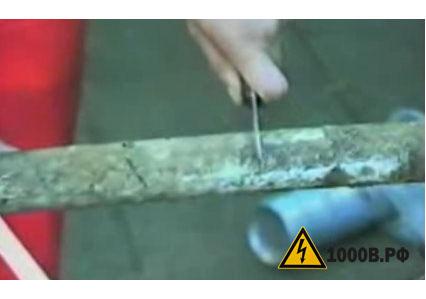 Электромонтаж концевых кабельных муфт