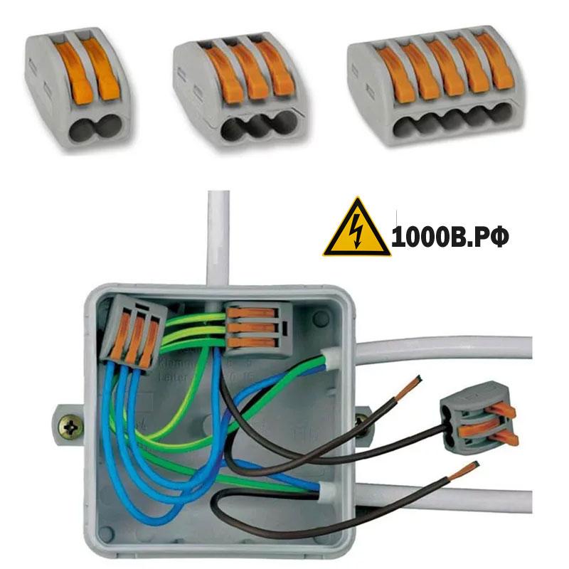 Электромонтажные работы по расключению распаечных коробок и электрооборудования