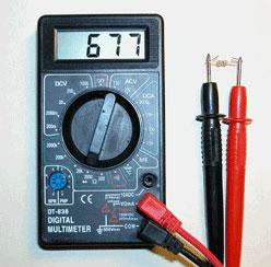 Как пользоваться мультиметром 1