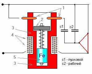 Как подключить трехфазный двигатель 380 в однофазную сеть 220 12