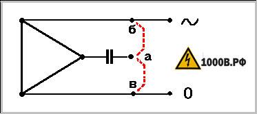 Как подключить трехфазный двигатель 380 в однофазную сеть 220 4