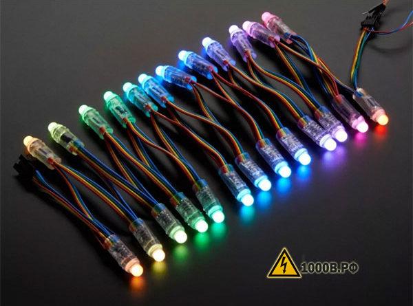 Схемы питания светодиодов