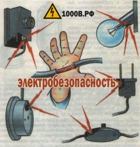 Электробезопасность электрооборудования