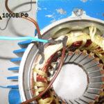 Определяем начало и конец обмоток у трехфазного электродвигателя