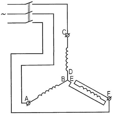 Определяем начало и конец обмоток у трехфазного электродвигателя 2