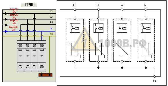 Пример выбора ограничителей перенапряжения (ОПН) для молниезащиты в TN – S, TN – C – S системах 7