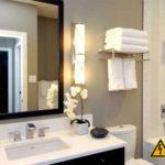 Освещение в ванной комнате: основные требования и нормы